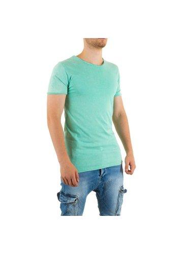 Markenlos Heren Shirt van Uniplay - Licht Groen