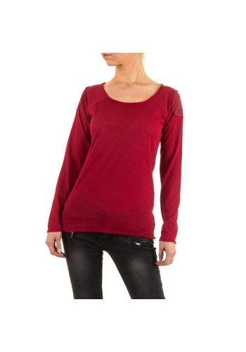 JCL Dames Shirt van Jcl - Rood