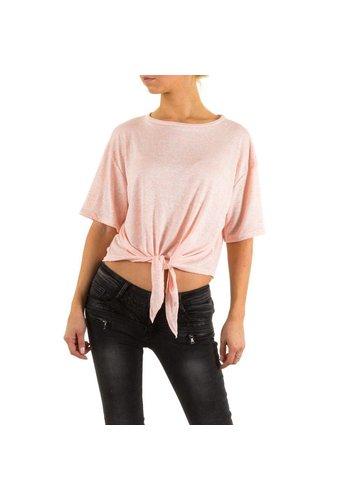JCL Dames Shirt van Jcl - Roze