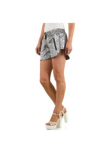 JCL Dames Shorts van Jcl - Zilver