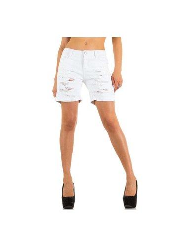 Laulia Dames Shorts van Laulia - wit