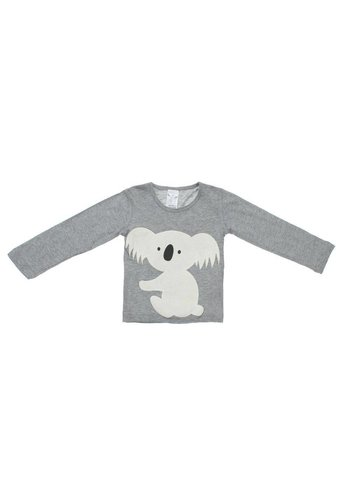 YOUNG DIMENSION Kinder sweater van Young Dimension -grijs