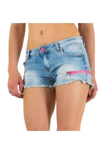 Nina Carter Dames Shorts van Nina Carter blauw