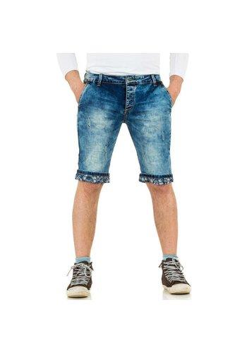 BLACK ACE Heren Shorts van Black Ace - blauw