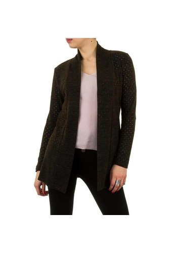 FRANK LYMAN Dames Pullover  van Frank Lyman - khaki