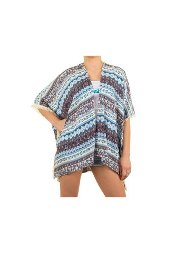 Best Fashion Dames Tunika van Best Fashion Gr. one size -licht blauw