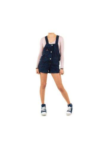 JULIE BY JCL Dames Shorts van Julie By Jcl - Donker blauw
