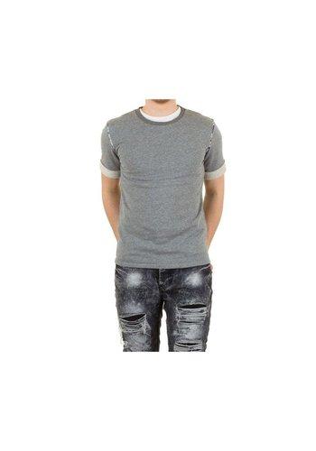 UNIPLAY Heren T-shirt van Uniplay - grijs