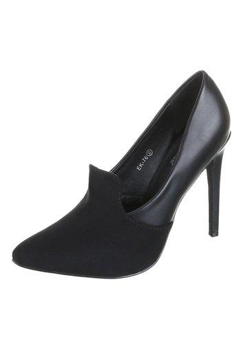 SMALL SWAN Dames hoge hakken - zwart