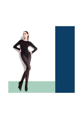Fiore Dames panty van Fiore - cobalt blauw
