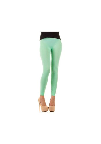 Neckermann Dames Leggings Gr. one size - Licht groen