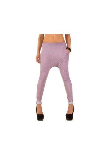 Neckermann Dames jogging Broek One Size - lila²