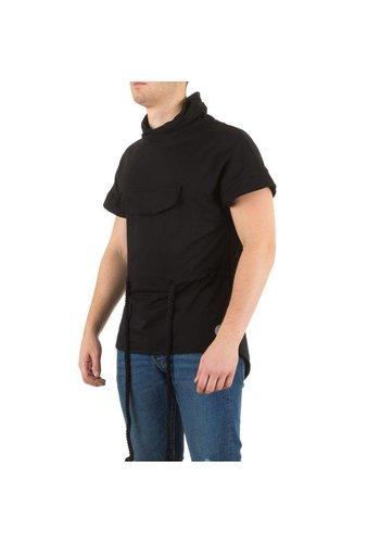 SIXTH JUNE Heren Shirt van Sixth June  - Zwart