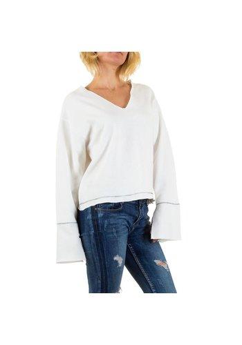 Jcl Paris Damen+Bluse+von+Jcl+Paris+Gr.+one+size+-+white