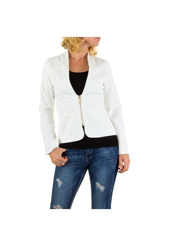 EMMA&ASHLEY DESIGN Dames Blazer van Emma & Ashley Design Wit