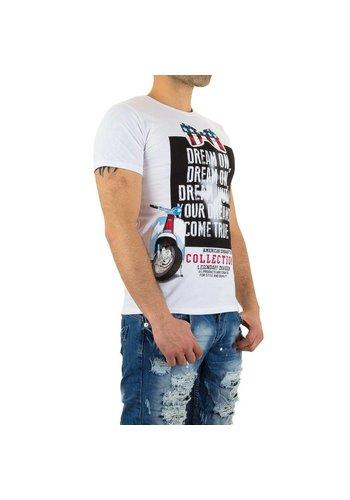 X-Man T-Shirt pour hommes de X-Man- Blanc