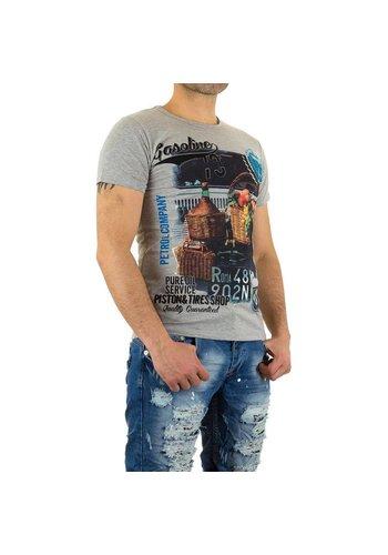 X-Man Herren+T-Shirt+von+X-Man+-+grey