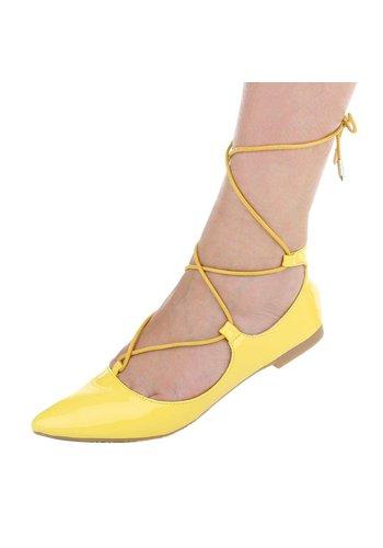 Neckermann Dames ballerina's geel