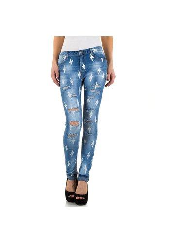 Daysie Jeans Damen Jeans von Daysie - blau
