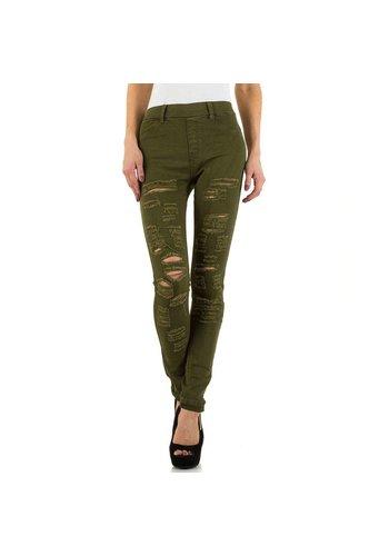 Daysie Jeans Jeans dames de jeans Daysie - kaki