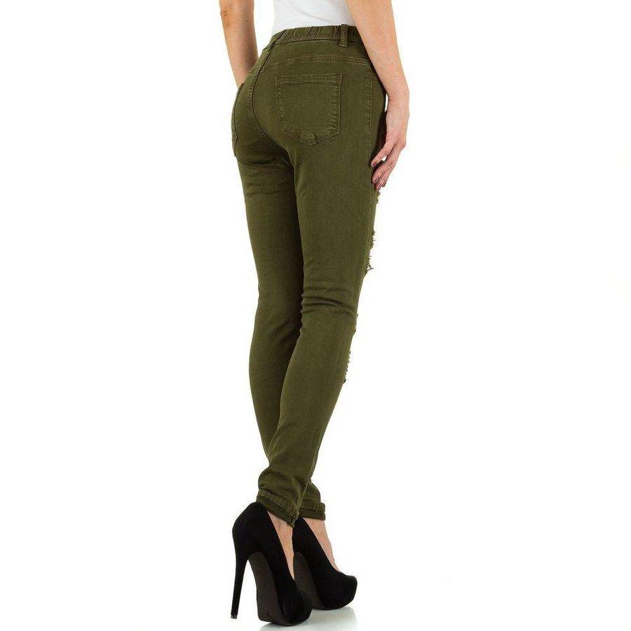 Damen Jeans von Daysie Jeans - khaki