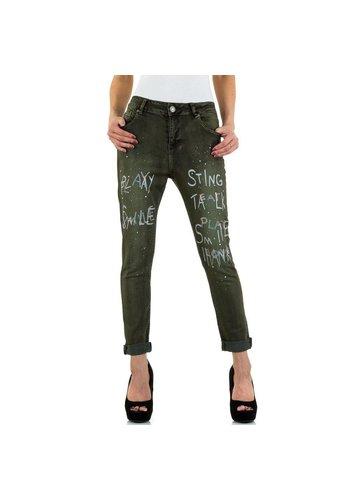 Mozzaar Damen Jeans von Mozzaar - khaki