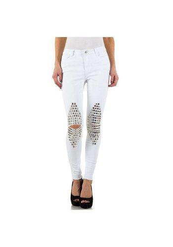 Blue Rags Damen Blue Jeans Jeans - Weiß