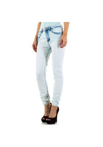 RJONACO DENIM Dames Jeans van Rjonaco Denim - Licht - blauw
