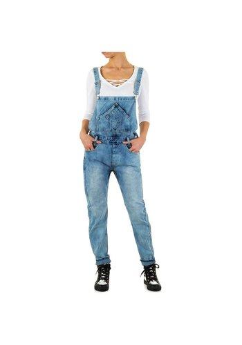 Angelica Jeans Salopette Jeans pour femme de Angelica Jeans - bleu