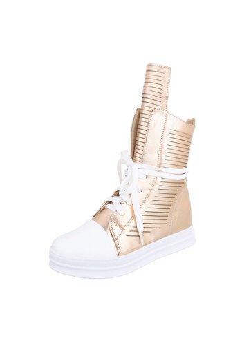Neckermann Dames Sneakers - roségoud