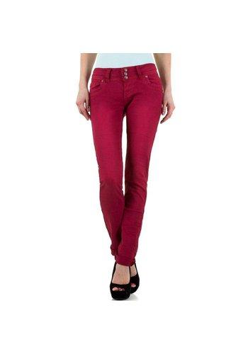 Remixx Damen Jeans von Remixx - bordeaux