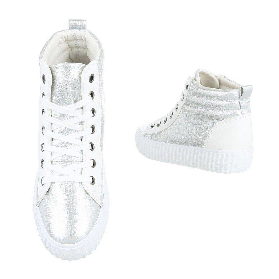 Baskets pour femmes - blanc