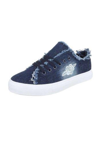 Neckermann Dames Sneakers - donkerblauw