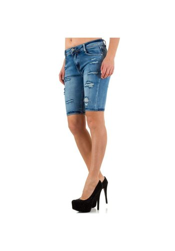 Nina Carter Dames Shorts van Nina Carter - Blauw