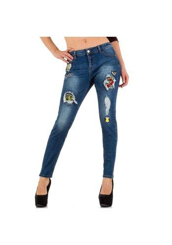 SEXY SENSE Damen Jeans von Sexy Sense - blue