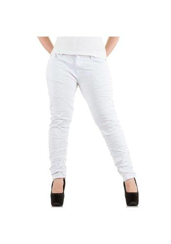 LE LYS Dames Jeans van Le Lys - Wit