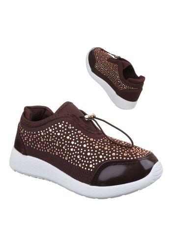 Neckermann Dames sneakers bruin