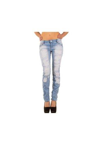 Neckermann Dames Jeans van Simply Chic - Blauw