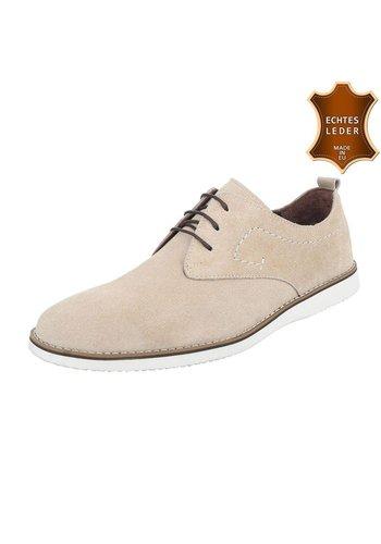 COOLWALK Chaussures décontractées en cuir de COOLWALK - sable