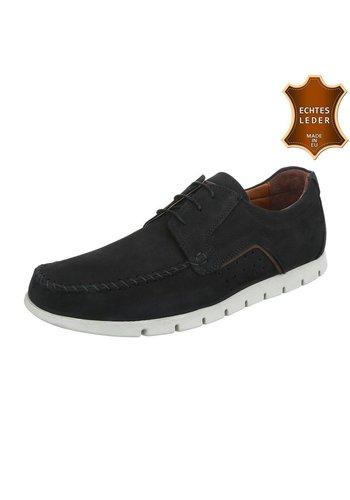 COOLWALK Chaussures décontractées en cuir COOLWALK - noir