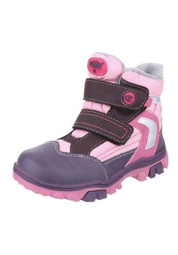 Neckermann Kinder Boots-Paars Roze
