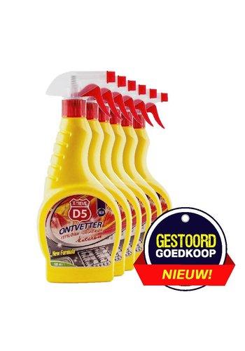 D5 X-treme Lave-vaisselle de cuisine 6 pièces 500ml
