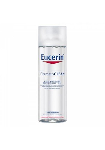 Eucerin Dermato clean 3 in 1 micellaire reinigingslotion 125 ml