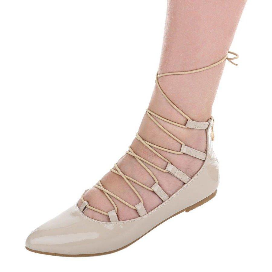 Damen Ballerinas - beige