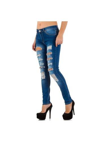 Marilyn&John Dames Jeans van Marilyn&John - Blauw