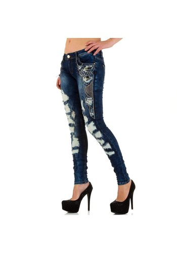 ORIGINAL Dames Jeans van Original - Blauw