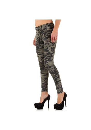 MISS BON Damen Jeans von Miss Bon - armygrey