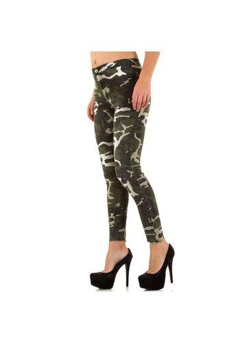 GOLDENIM Damen Jeans von Goldenim - camouflage