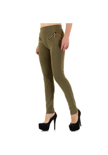 Best Fashion Dames broek van Best Fashion - khaki