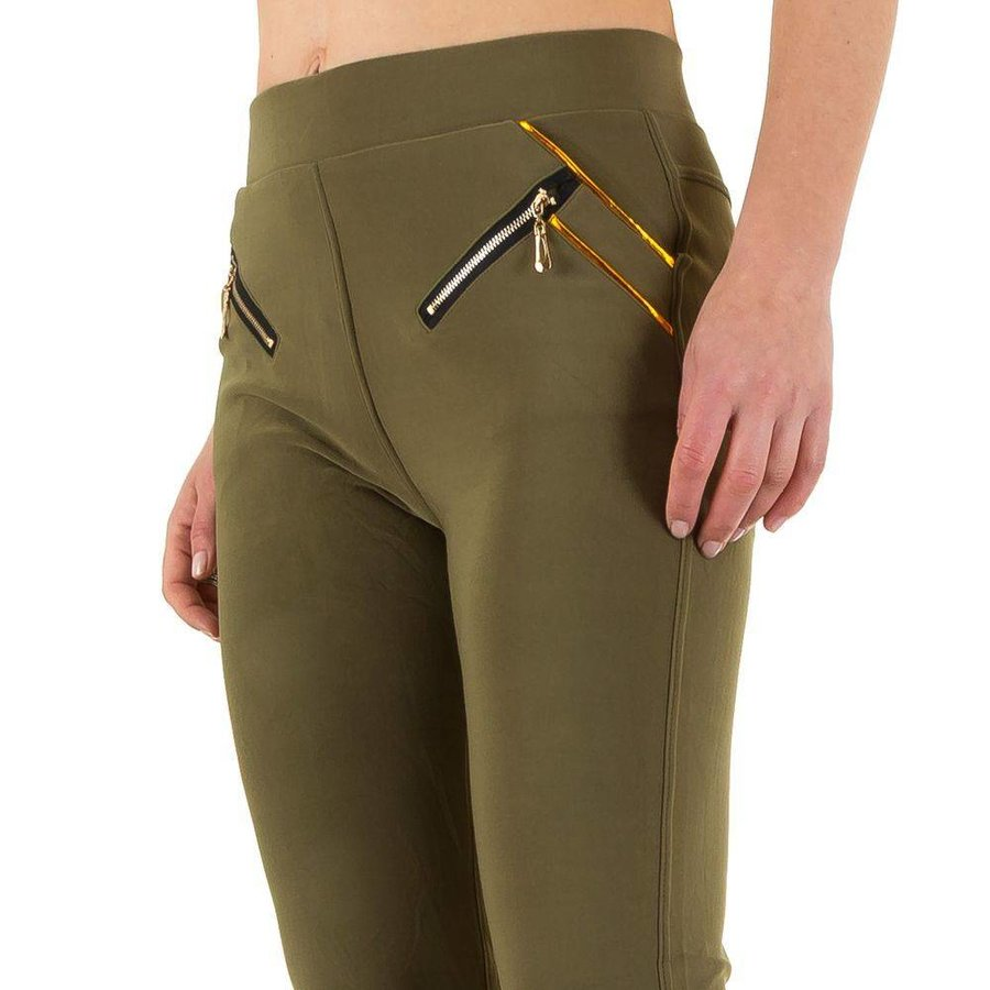 Pantalons pour dames de la meilleure mode - Khaki